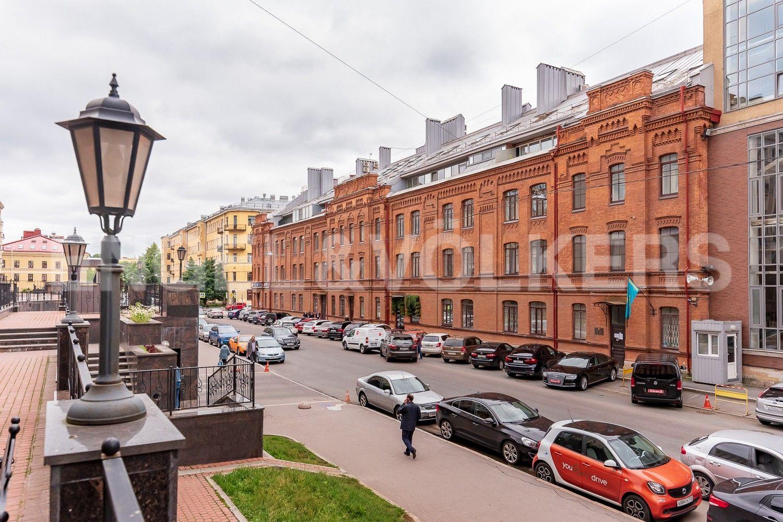 Элитные квартиры в Центральном районе. Санкт-Петербург, Виленский, 15. Фасад дома