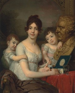 Графиня Л. Кушелева с детьми