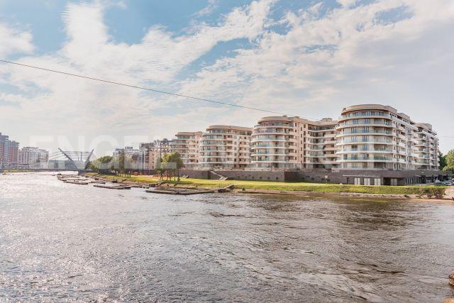 ЖК «Привилегия» - квартира с прямой панорамой на реку Малая Невка