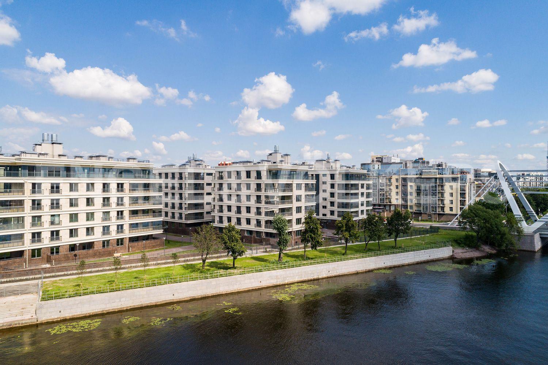 Элитные квартиры на . Санкт-Петербург, Спортивная улица, 2. Вид с высоты