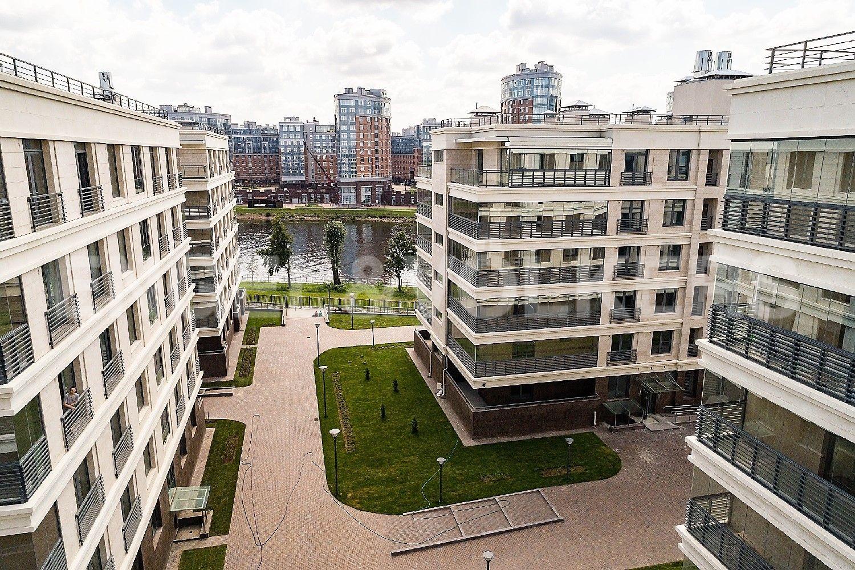 Элитные квартиры на . Санкт-Петербург, Спортивная улица, 2. Вид в сторону Малой Невки