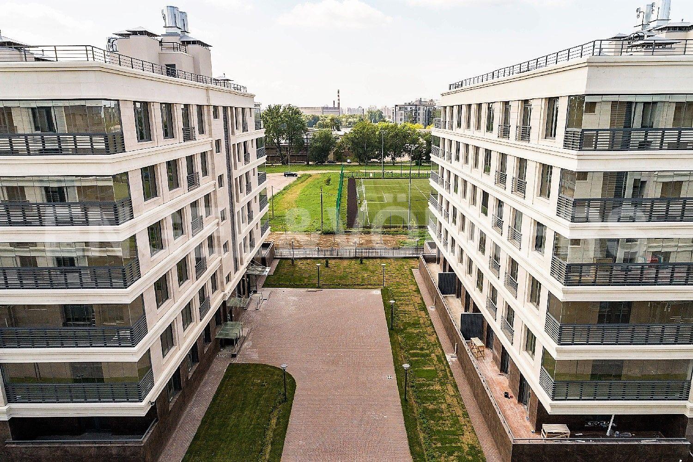 Элитные квартиры на . Санкт-Петербург, Спортивная улица, 2. Вид из окон квартиры