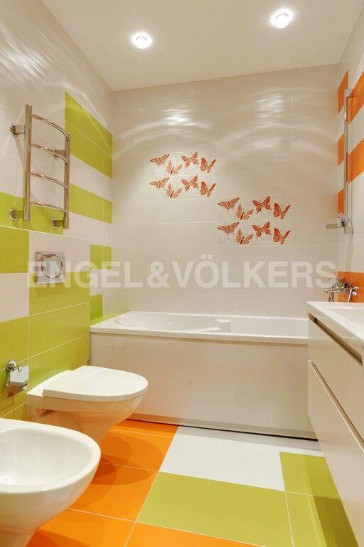 Элитные квартиры в Центральном районе. Санкт-Петербург, Тверская, 1А. Собственная ванная комната при детской
