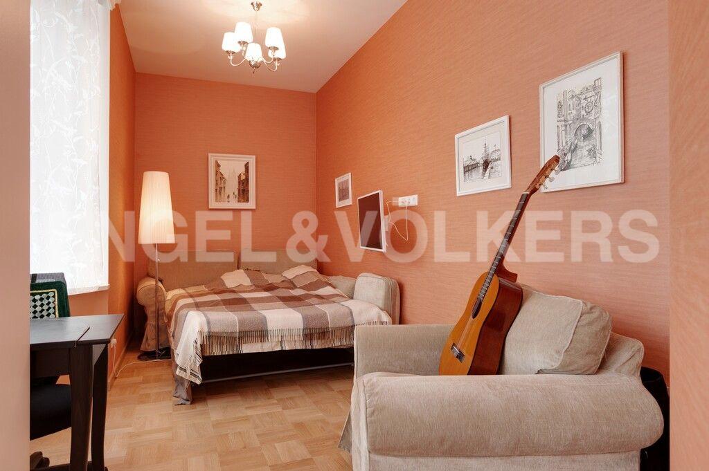 Элитные квартиры в Центральном районе. Санкт-Петербург, Тверская, 1А. Кабинет либо третья спальня