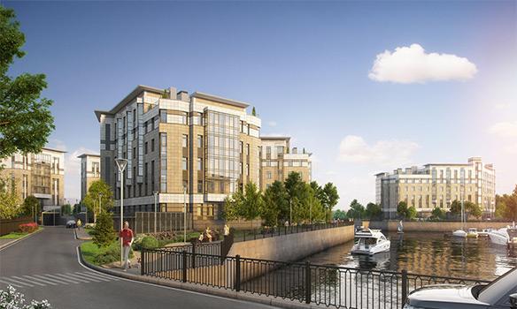 Royal Park – элитный комплекс апартаментов на Петровском острове с собственной мариной и территорией 3га