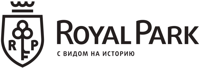 Logo Royal Park – элитный комплекс апартаментов на Петровском острове с собственной мариной и территорией 3га