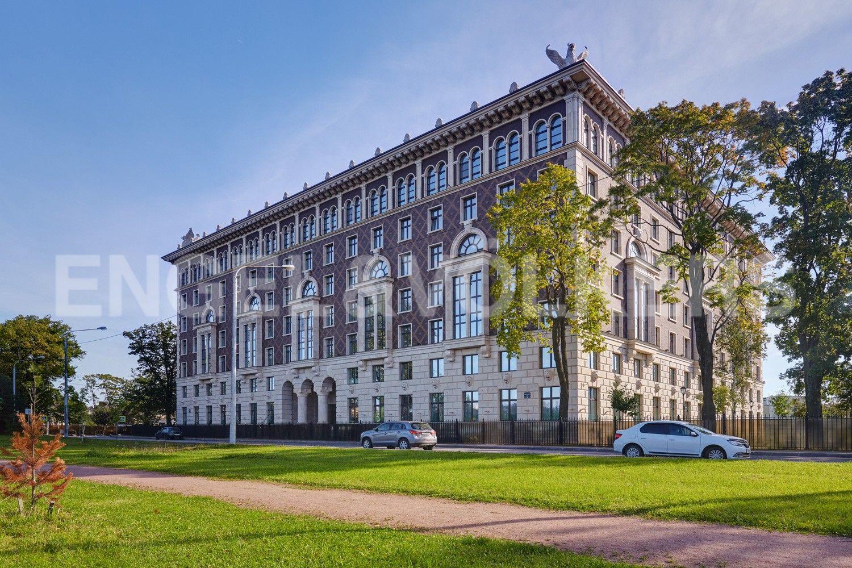 Элитные квартиры на . Санкт-Петербург, Депутатская, 26. Фасад