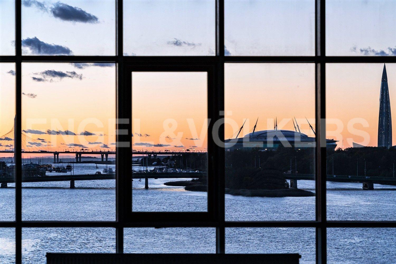 Вид на Финский залив в вечернее время