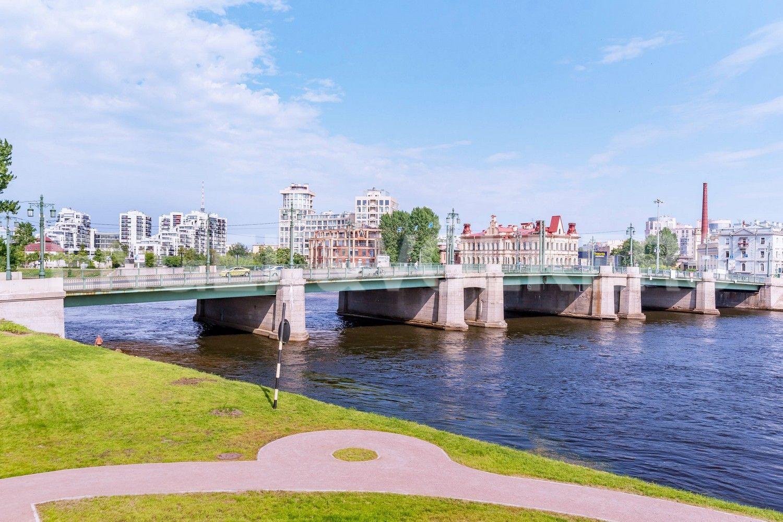 Элитные квартиры на . Санкт-Петербург, ул. Вязовая, 8. Большой Крестовский мост