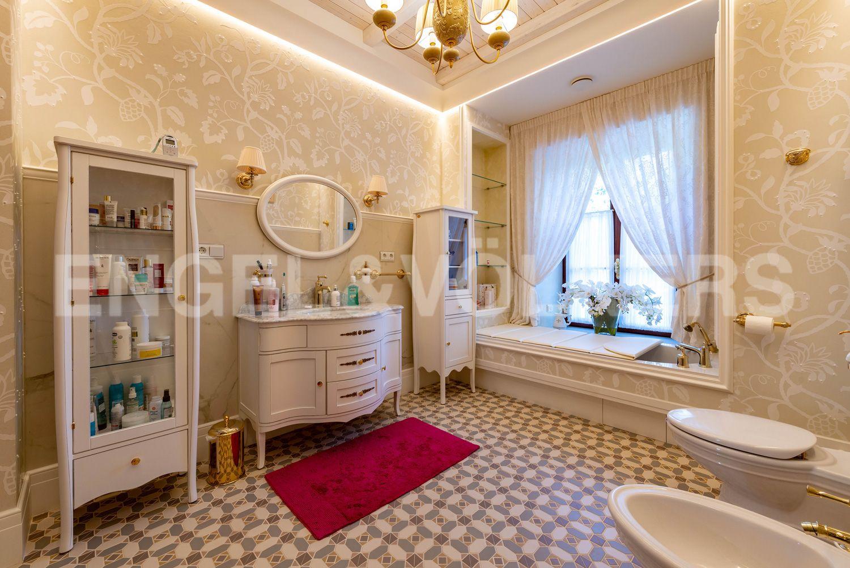 Элитные квартиры в Курортном районе. Санкт-Петербург, г. Сестрорецк, ул. Парковая, д. 44. Ванная комната