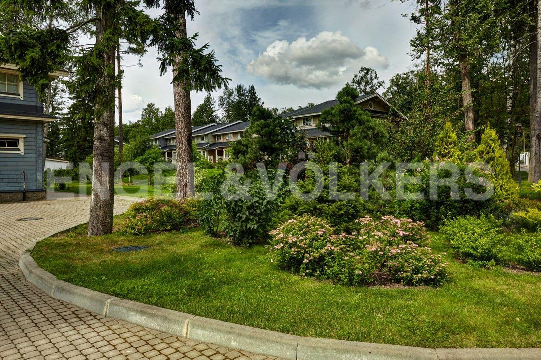 Элитные квартиры в Курортном районе. Санкт-Петербург, п. Репино, Приморское шоссе, д. 412. Закрытая территория