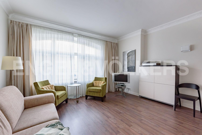 Элитные квартиры в Центральном районе. Санкт-Петербург, Шпалерная, 52А. Комната