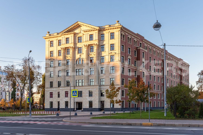Элитные квартиры на . Санкт-Петербург, Морской пр, 29. Элитный дома VERONA
