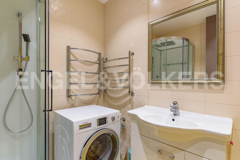 Элитные квартиры в Центральном районе. Санкт-Петербург, Шпалерная, 52А. Ванная комната