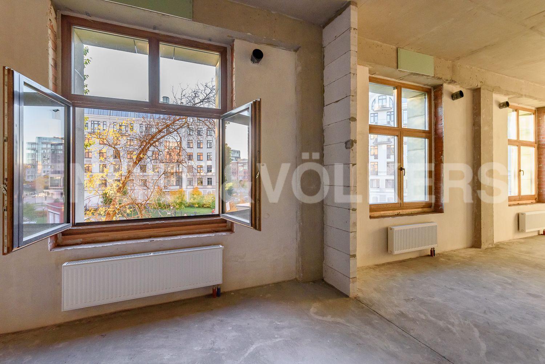 Элитные квартиры на . Санкт-Петербург, Морской пр, 29. Кухня-гостиная