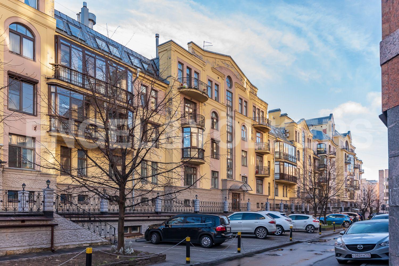 Элитные квартиры в Центральном районе. Санкт-Петербург, Шпалерная, 52А. Фасад дома