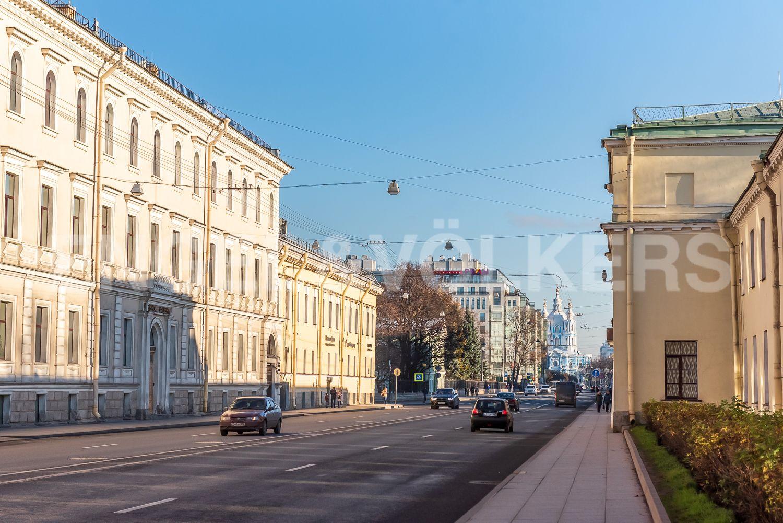 Элитные квартиры в Центральном районе. Санкт-Петербург, Шпалерная, 52А. Перспектива Шпалерной ул.