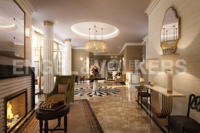 Элитные квартиры в Центральном районе. Санкт-Петербург, Наб. реки Мойки, 102. Дизайн лобби от студии Project Orange