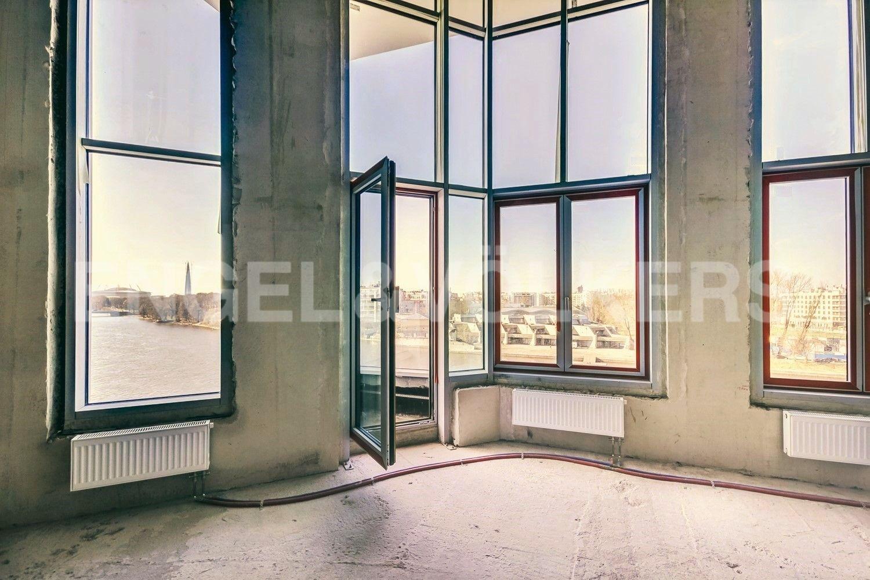Панорамное остекление в видовой гостиной