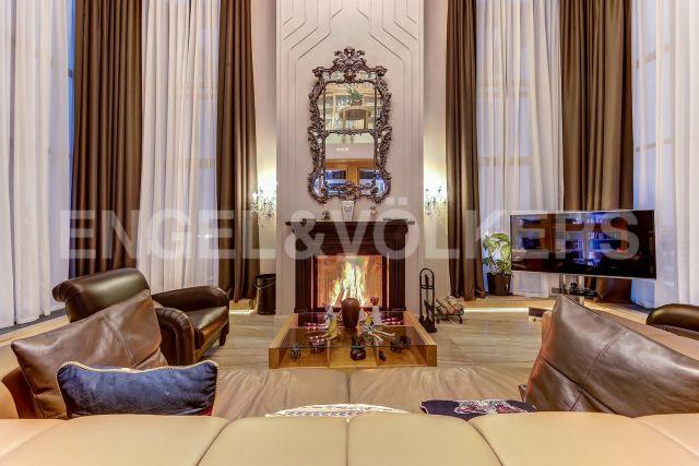 «Резиденция на Суворовском» - Ар-деко и Фьюжн с собственной видовой террасой