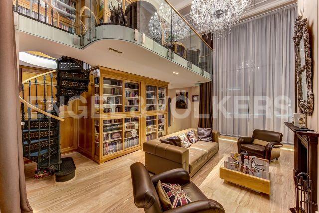 «Резиденция на Суворовском» — Ар-деко и Фьюжн с собственной видовой террасой