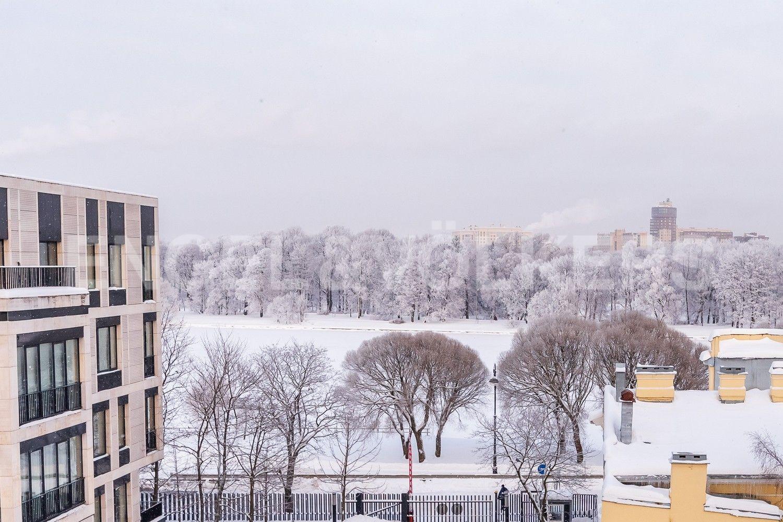 Элитные квартиры на . Санкт-Петербург, наб. Мартынова, 74. Вид