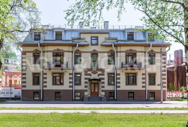 «Особняк Д.А. Бенкендорфа» - резиденция на Крестовском о-ве