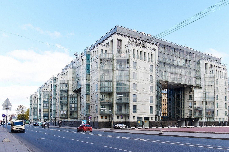 Элитные квартиры в Центральном районе. Санкт-Петербург, Шпалерная, 60. Фасад дома