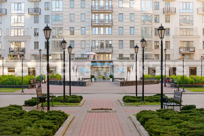 Элитные квартиры в Центральном районе. Санкт-Петербург, Парадная, 3, корп. 2. Фитнес клуб Парус на территории комплекса