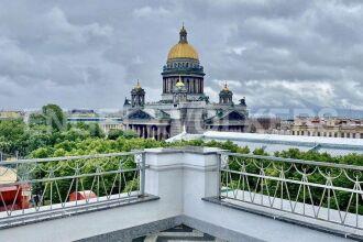 «Монферран» — пентхаус с видом на Исаакиевский собор