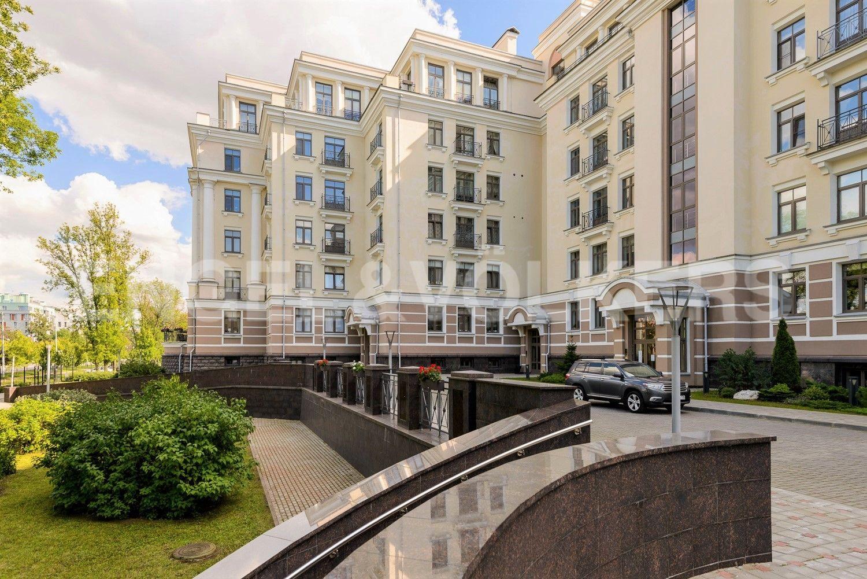 Элитные квартиры на . Санкт-Петербург, Морской пр., 24. Фасад