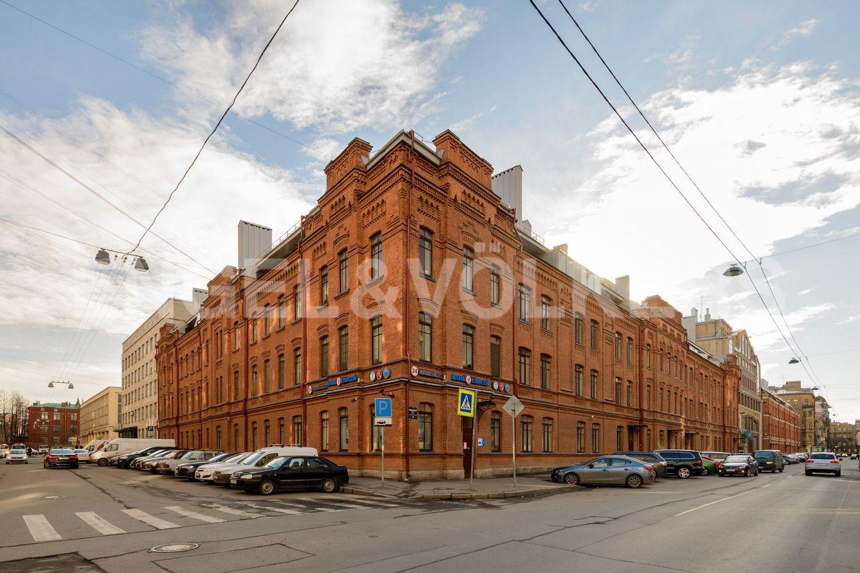 Элитные квартиры в Центральном районе. Санкт-Петербург, Виленский пер., д.15. Фасад дома