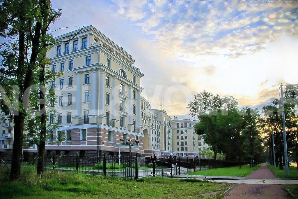 Элитные квартиры на . Санкт-Петербург, Морской пр., 24. Месторасположение