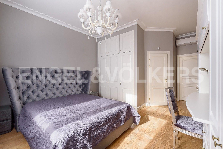 Спальня пл. 16,5 кв.м. со своей ванной комнатой