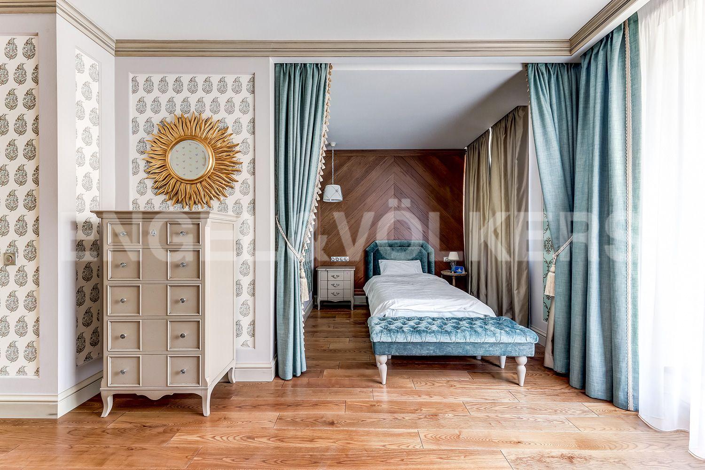 Элитные квартиры в Приморском районе. Санкт-Петербург, Главная улица, 31 корпус 1. - Деьская спальня (3 этаж)
