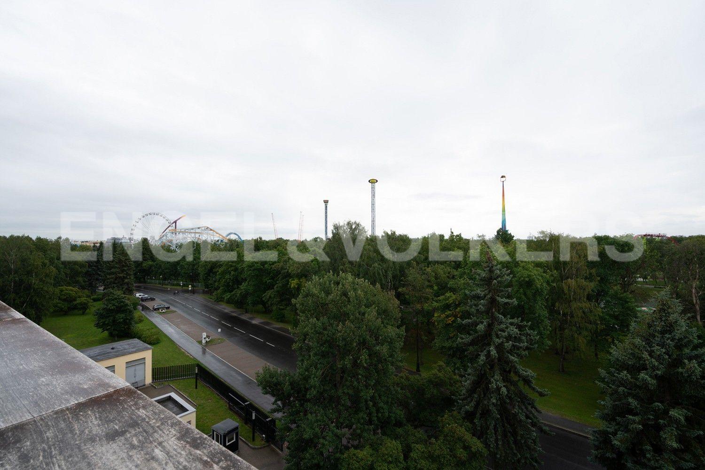 Элитные квартиры на . Санкт-Петербург, наб. Мартынова, 74. 17_Вид с террасы