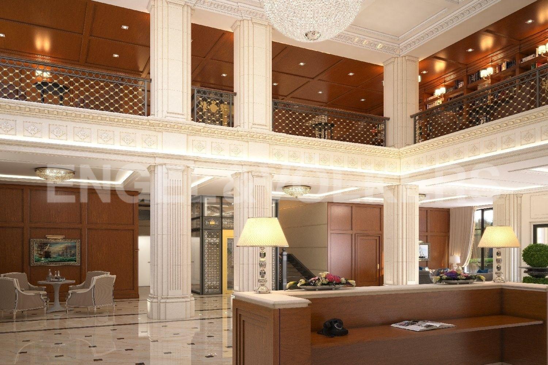 Элитные квартиры на . Санкт-Петербург, наб. Гребного канала, д. 1. Парадный холл