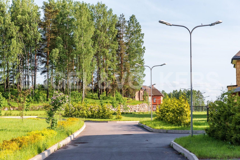Внутренняя территория поселка