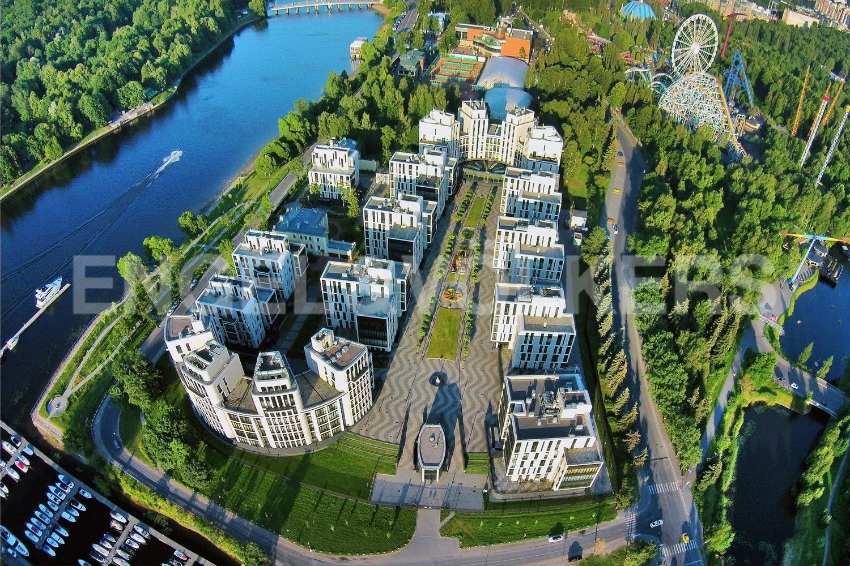 Элитные квартиры на . Санкт-Петербург, наб. Мартынова, 74Б. Месторасположение