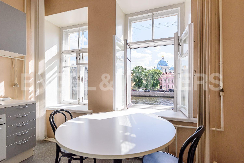 Элитные квартиры в Центральном районе. Санкт-Петербург, Наб. реки Фонтанки, 135А. Кухня