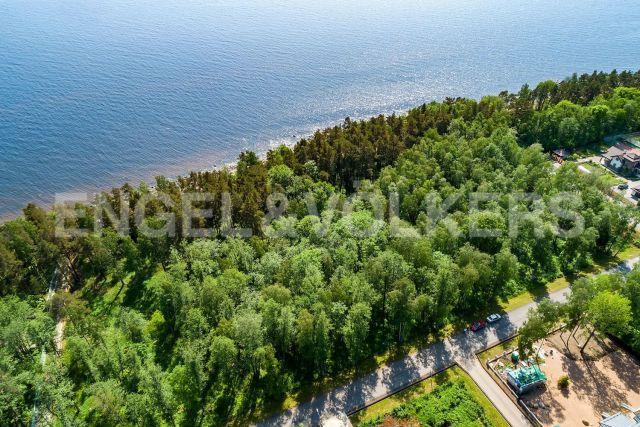 «Морские террасы» – участок в закрытом поселке на береговой линии Финского залива