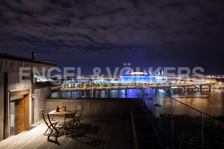 ЖК «Золотая Гавань» – пентхаус с террасой и панорамой Финского залива в стиле Ар-деко