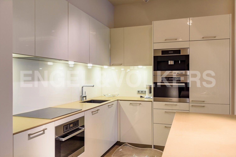 Элитные квартиры на . Санкт-Петербург, Южная дор., д.5А. Кухня