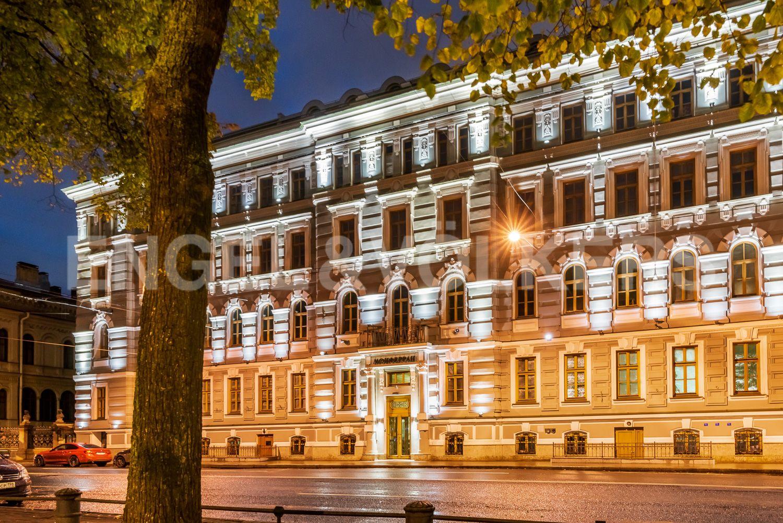 Элитные квартиры в Центральном районе. Санкт-Петербург, Конногвардейский бульвар, д.5. Фасад дома ЖК Монферран