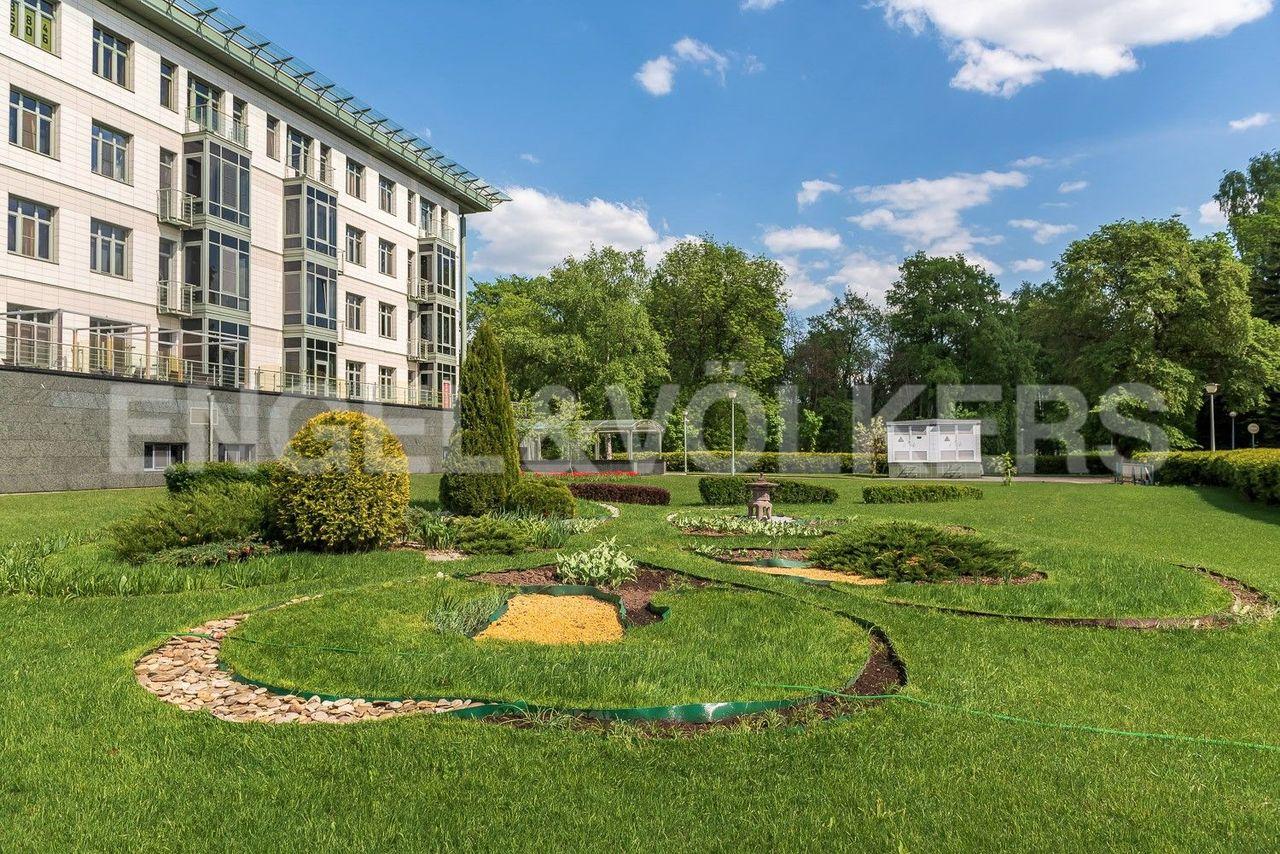 Элитные квартиры на . Санкт-Петербург, Южная дор., д.5А. Внутренняя территория