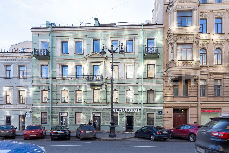 Элитные квартиры в Центральном районе. Санкт-Петербург, Невский пр, 123. 021_Фасад дома со стороны Невского проспекта, корпус 1
