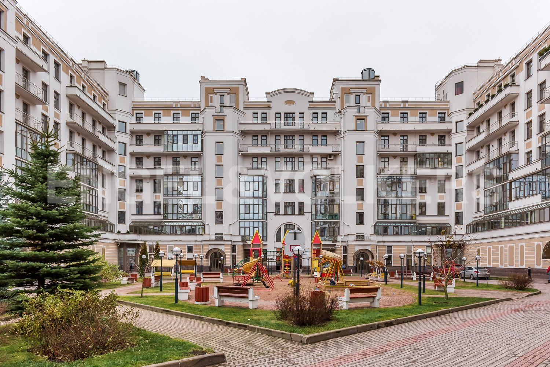 Элитные квартиры на . Санкт-Петербург, Морской пр, 33. Фасад