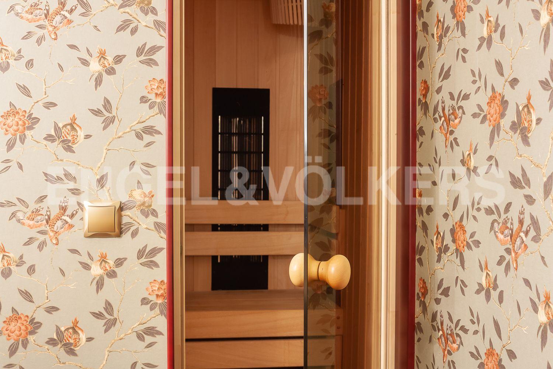 Элитные квартиры в Центральном районе. Санкт-Петербург, Суворовский пр., 57. 16_Сауна
