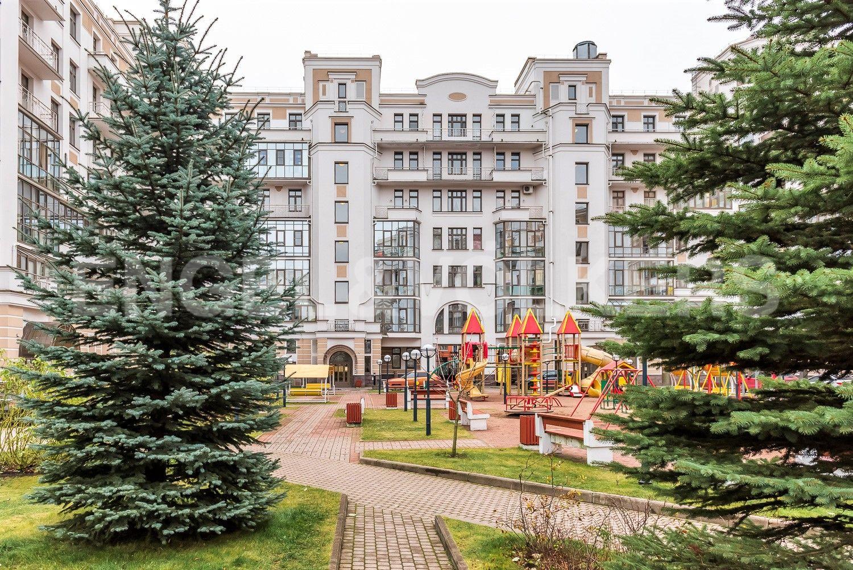 Элитные квартиры на . Санкт-Петербург, Морской пр, 33. Внутренняя территория