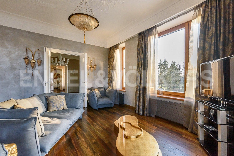 Элитные квартиры на . Санкт-Петербург, наб. Мартынова, 74Б. Зона отдыха